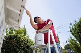 What routine home maintenance should be done each year?